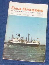 SEA BREEZES JULY 1975 VOLUME 49 NUMBER 355 - SCYTHIA OF 1921