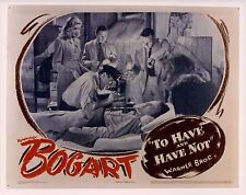 Humphrey Bogart To Have and Have Not Unsigned Glossy 8x10 Movie Promo Photo (B)