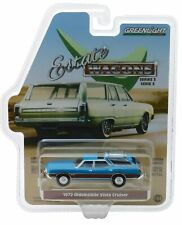 Greenlight  1972 Oldsmobile Vista Cruiser - Blue Woody ** Wagon 1:64 OVP