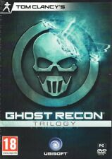 Tom Clancy's Ghost Recon Trilogy (3 PC Games) FREE US Shipping
