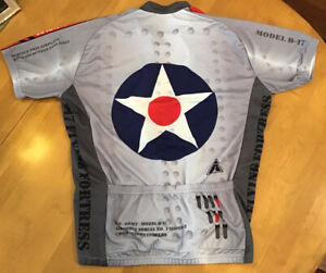 B17 Flying Fortress Cycling Jersey Bicycle WWII