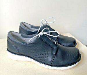 Clarks Ladies Shoes 4 E Lace Up Casual Un Voltra Flat Work Artisan Wide Fit