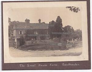 5 original photos The Great House Farm Southwater West Sussex 1916