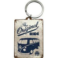 Fun Novelty Key Ring Nostalgic Art The Original Ride VW Bulli