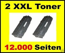2 x Toner für Lexmark E330 E332n E340 E342n / 34016HE XXL Cartridges BLACK