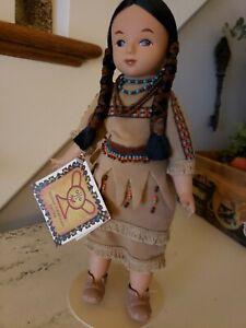 "Sandy Dolls Native American Series Shy Heart Cheyenne Squaw 12"" Vinyl Doll"
