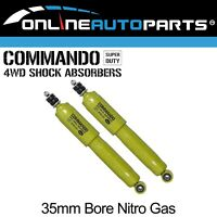 2 Front Gas Shock Absorbers Ford Courier PB PC PD PE PG PH 1985-2006 RWD 4X4 Ute