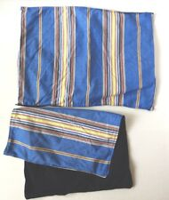 Nautica (2) Standard Pillow Sham ~ Striped 100% Cotton
