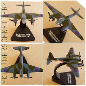 De Havilland DH-98 Mosquito Fertigmodell Metall 1:144 DieCast Military Aircraft