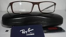 88b0809dd4 Ray Ban Eyeglasses RX 7035 5434 Dark Brown 54mm