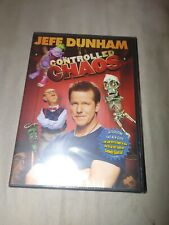 JEFF DUNHAM  CONTROLLED CHAOS DVD STAND UP COMEDY FUNNY VENTRILOQUIST NEW SEALED