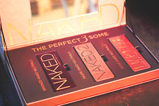 URBAN DECAY NIB Limited Edition Naked Perfect 3Some Vault Eyeshadow Palette Box