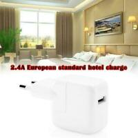 12W Fast Charger For Apple Iphone Ipad Tablet USB Adapter US/EUPlug 2.4A J7V2