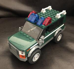 Lego Custom PARK RANGER POLICE VEHICLE Truck Car Sheriff Swamp Police Sheriff