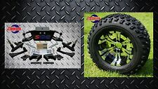 "Club Car DS Golf Cart 6"" A-Arm Lift Kit + 12"" Wheels and 23"" Tires (1982-2003)"