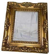 Large Vintage Rococo Style 1976 Frame Resin/Plastic Victorian I.I.C.70-3 Gold