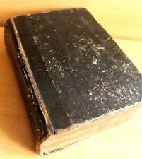 La Biblia lutherbibel las sagradas escrituras rareza 1821 Basilea/teología/religión