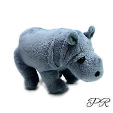 Born Wild Baby Hippo Hippopotamus Plush Soft Stuffed Toy Washed and Clean 17cm