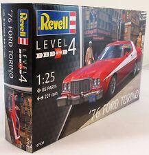 Revell 1:24 07038'76 Ford Torino Starsky & Hutch Modelo Kit de coche
