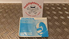 Bedienungsanleitung Buch Fahrerhandbuch Honda CBR 900 SC28 Bj.95