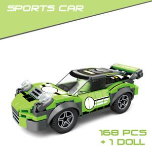 Sports Car 168 PCS Building block Toys Racing Car
