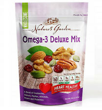 Nature's Garden Omega-3 Deluxe Nut Mix, 26 oz