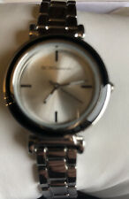 BCBGeneration Ladies Watch Stainless Black Ceramic Ring New In Box