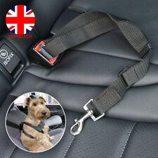 Pet Dog Puppy Car Safety Seat Belt Harness Adjustable Restraint Metal Clip UK