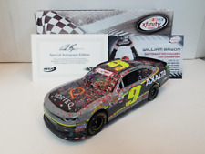 SIGNED 2017 WILLIAM BYRON #9 DAYTONA RACE WIN  AXALTA VORTEQ AUTOGRAPHED 1/24