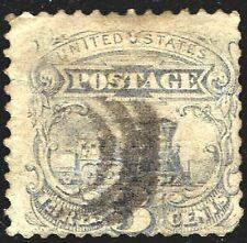 USA 1869 Stamp - Sc#114 3c Locomotive w/Grill.