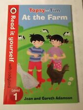 Topsy and Tim: At the Farm - Read it yourself with Ladybird: Level 1 by Penguin