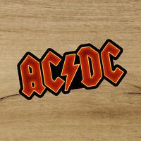ACDC Neon Fan Art Premium Vinyl Sticker 3.5in Decal Wall logo Heavy Metal Rock