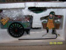 "Heritage Village Collection -Dept 56-""Chelsea Market Fish Monger & Cart"""