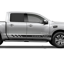 Nissan Titan side stripe decal rocker graphics decal door panel