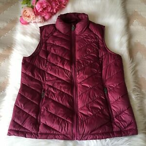 Women's, Fat Face, UK 16, Cherry Red, Gilet, Quilted, Lightweight
