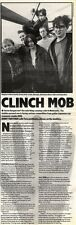 28/3/92Pgn18 Article & Picture clinch Mob Guitar-japanese Rap Crossover Combo Hu