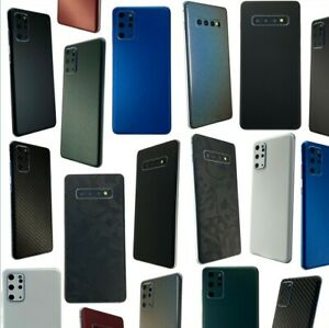 Samsung Galaxy S10 S20 S21 Ultra Plus A50 Skin Sticker Foil Rear Note