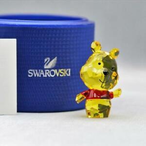 SWAROVSKI CRYSTAL DISNEY WINNIE THE POOH CUTIE FIGURINE MINT IN BOX