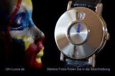 Polierte Mechanisch-(Automatisch) Armbanduhren aus Massivgold
