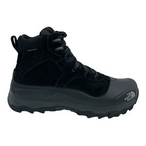 THE NORTH FACE SNOWFUSE BLACK TNF SUEDE WATERPROOF MEN'S BOOTS US SIZE 9.5