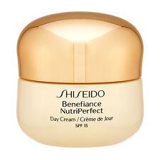 Shiseido Benefiance Nutriperfect Day Cream SPF15 50ml Anti-Age Moisturize #17685