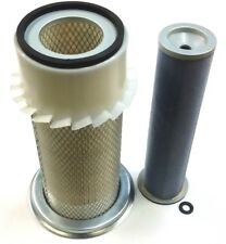 JCB PARTS 3CX - OUTER & INNER AIR FILTERS (TURBO) PART NO. 32/903601 & 32/202601