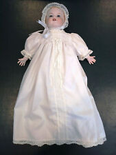 "Beautiful Armand Marseille 15"" baby doll - 352/4 mold - w/gown & bonnet"