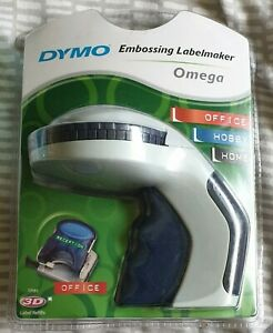 Dymo Embossing Labelmaker Omega - New and Sealed