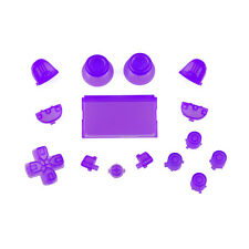 SONY PS4 PlayStation 4 FULL Botón Kit - CRISTAL Lilac