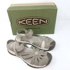 Keen Womens Rose Sandal Brindle Shitake 1016729 Shoes Sandals Size US 8.5