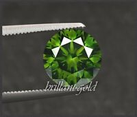 Diamant Brillant Farbe grün 1-3 mm / VS-Si / 0,01-0,10 ct, echte Diamanten