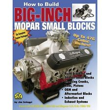 How to Build a Small Block Mopar 408, 418 or 476 Stroker Engine Book