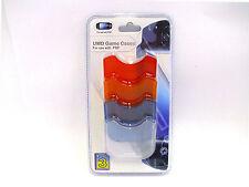 Sony PSP, 4 UMD Game Cases, Schutzhüllen, Logic 3, PVC