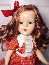 """Vintage 1950s 14"""" American Character SWEET SUE Walker Doll in Vintage Dress"""
